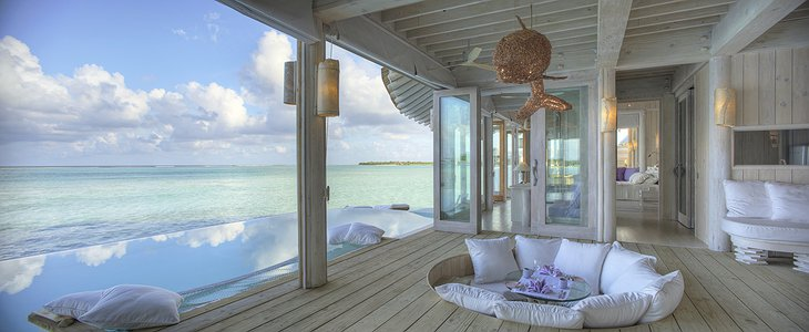 Soneva Jani Maldives villa terrace with pool