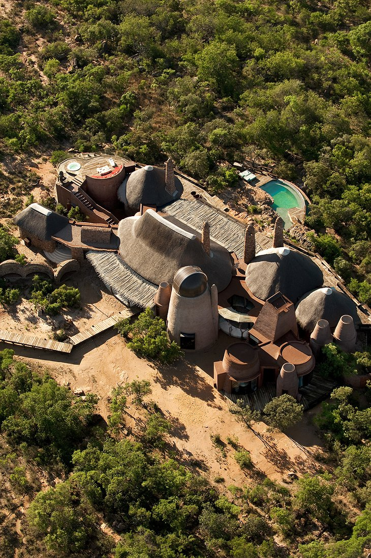 Leobo Private Reserve aerial