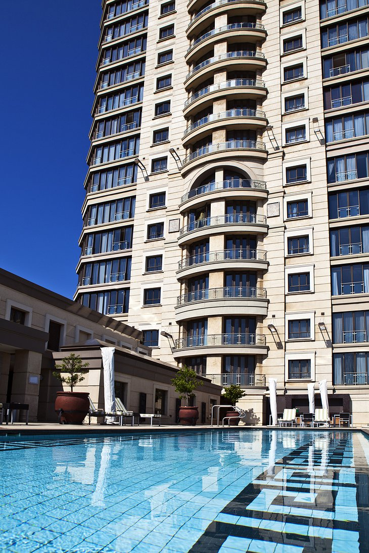 Michelangelo Towers outdoor pool