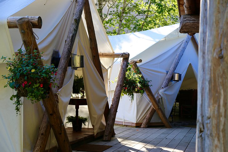 Clayoquot Wilderness Resort Dining Tents