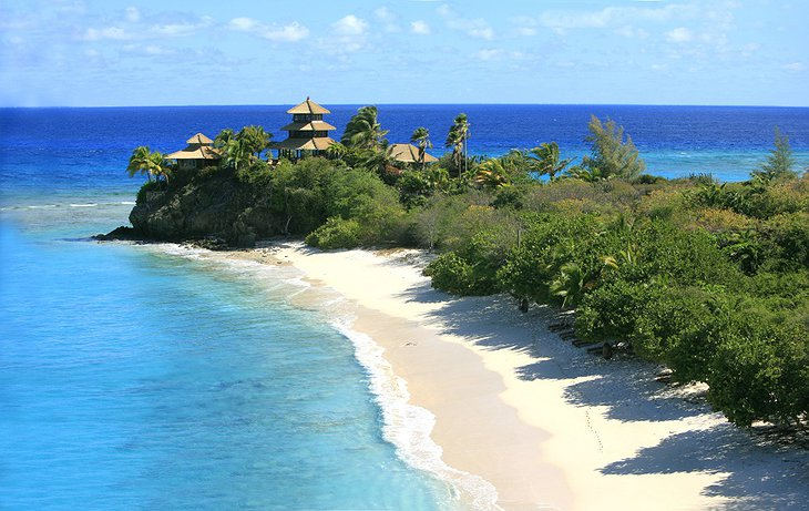 Necker Island shore