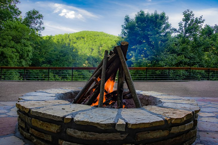 Beckham Creek fireplace