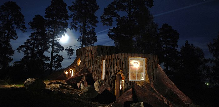 Norrqvarn Hotell - Stay In A Giant Mushroom Or Tree Stump In Sweden
