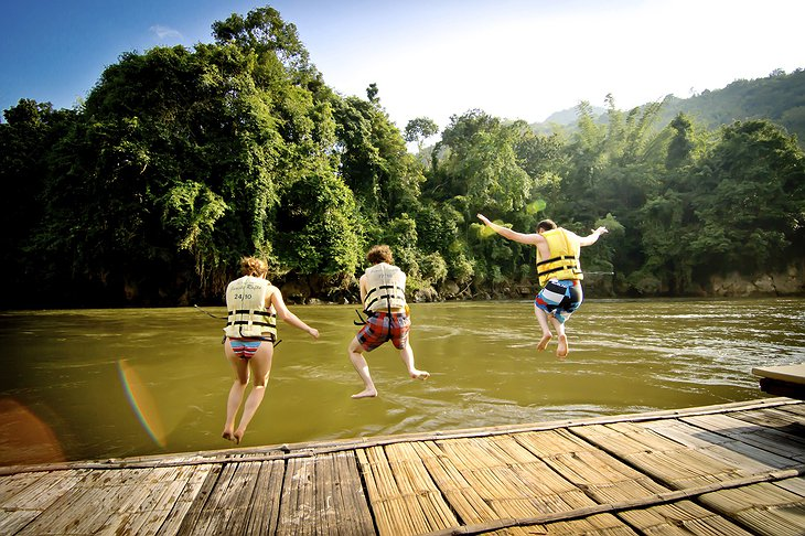 Jump to the River Kwai