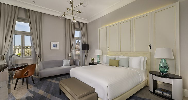 The Ritz-Carlton Hotel Budapest Deluxe Room