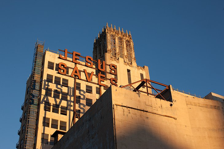United Artists Building now functioning as the Ace Hotel Downtown Los Angeles