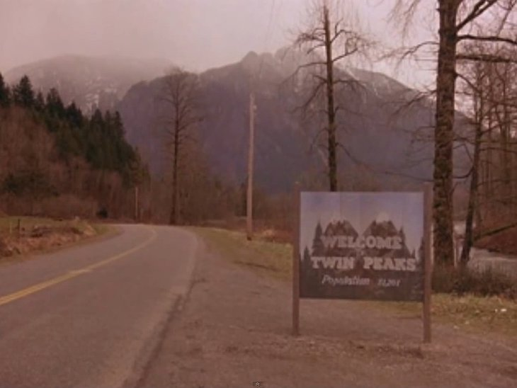 Scenes from the Twin Peaks TV show