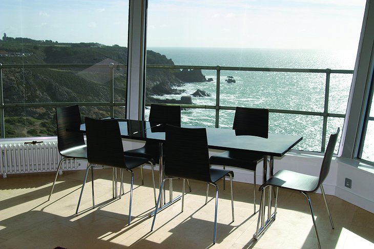 La Corbiere Radio Tower living room