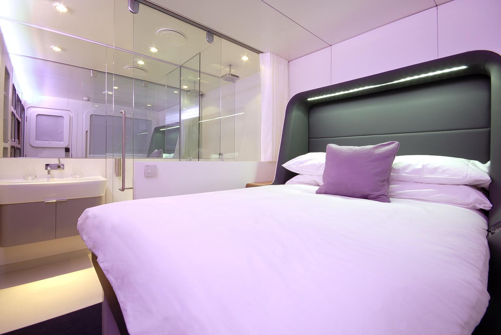 yotel. Black Bedroom Furniture Sets. Home Design Ideas