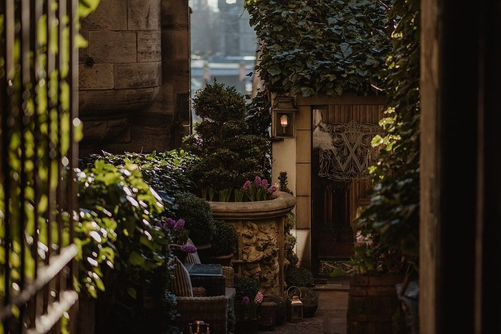 The Witchery by the Castle Secret Garden