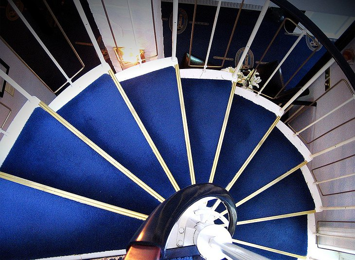 Corsewall Lighthouse stairs