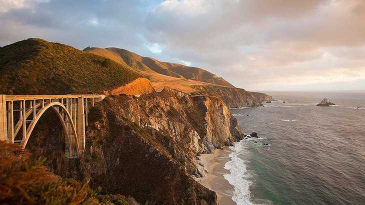 Californian coast at Big Sur