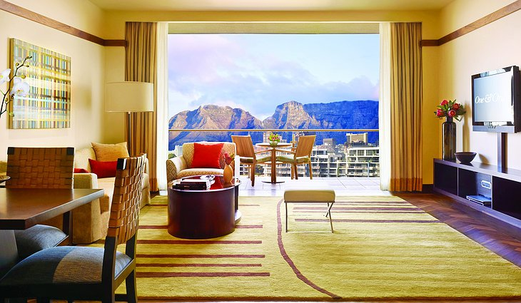 One&Only Cape Town room with Table Mountain view
