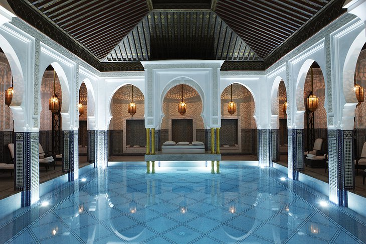 La Mamounia indoor pool
