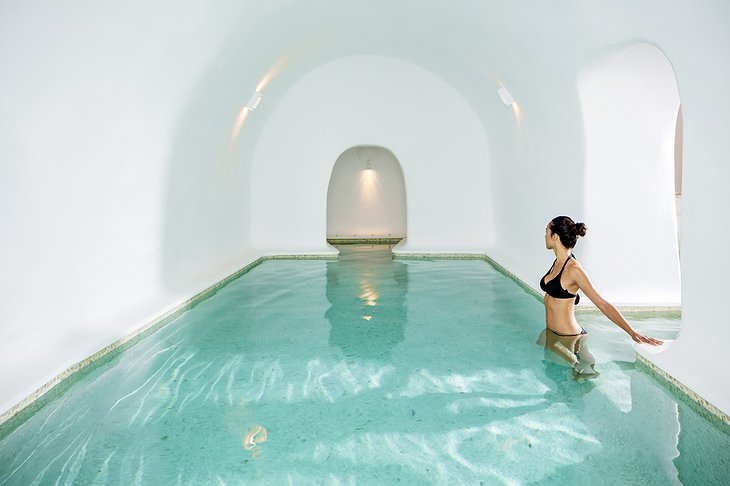 The A.SPA Indoor Heated Pool