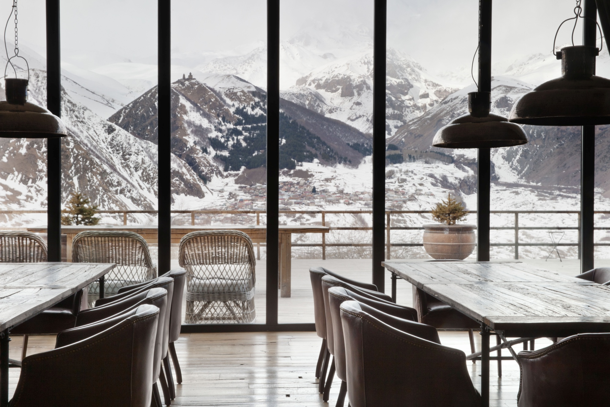 rooms hotel kazbegi design mountain resort in georgia