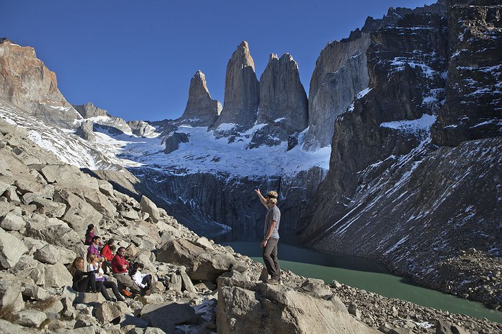 Tierra Patagonia Trekking in the Snowcapped Mountains