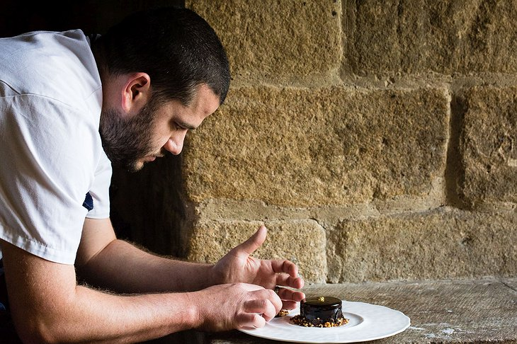 Langley Castle Hotel chef