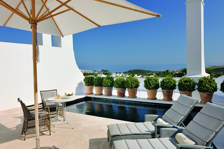 Finca Cortesin Hotel private pool