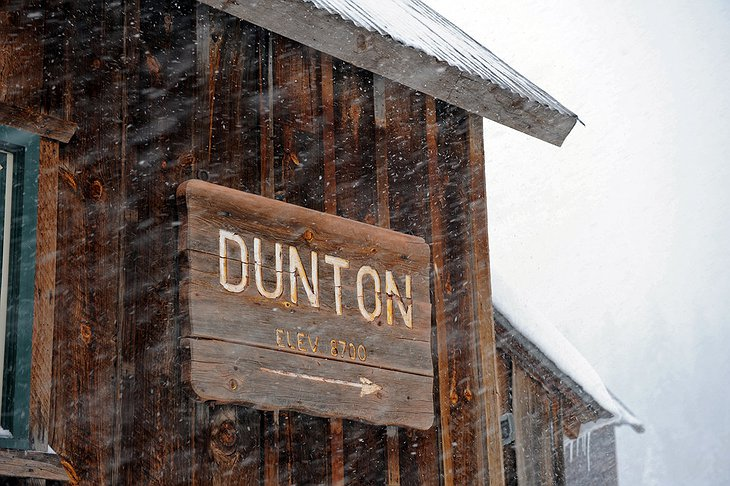 Dunton sign