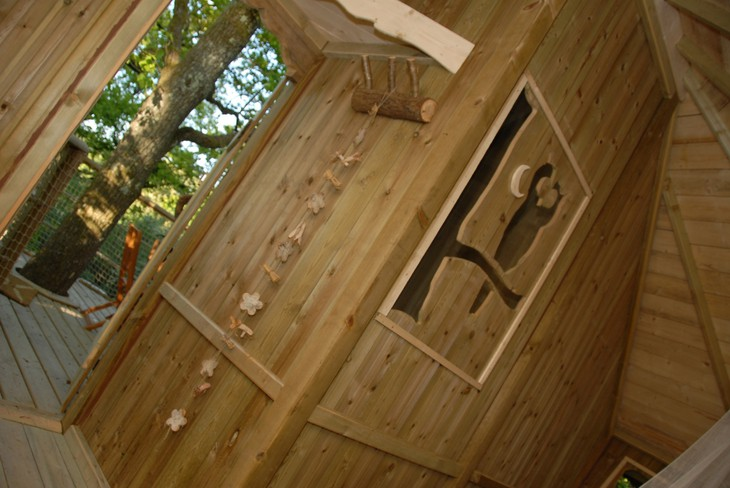 Tree Houses Alicourts Luxury Treehouses In French