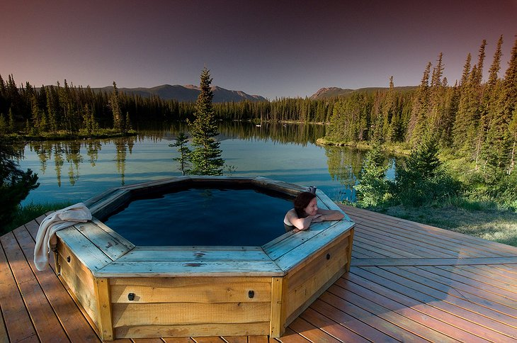 Jacuzzi in the nature
