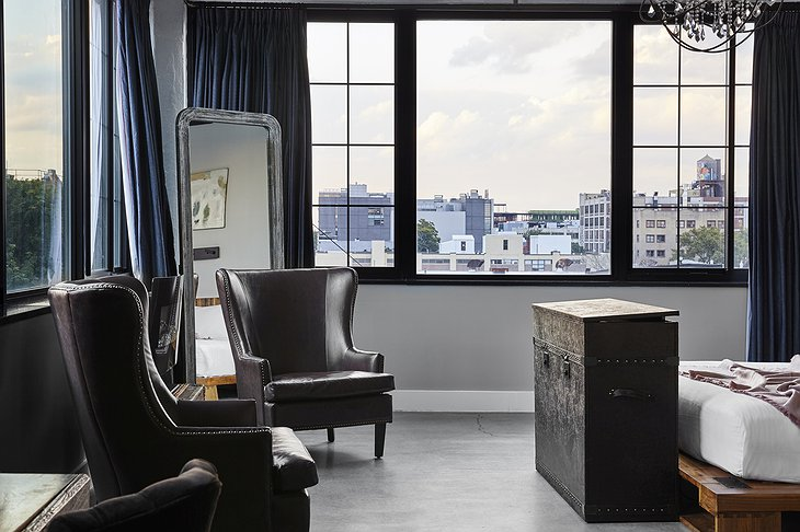 The Collective Paper Factory Manhattan Loft View on New York