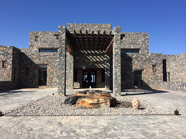 Alila Jabal Akhdar main entrance