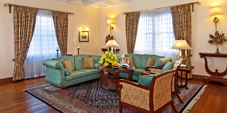 The Oberoi Cecil luxury suite