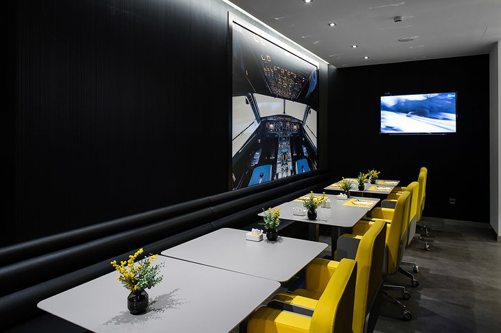 A320 theme dining