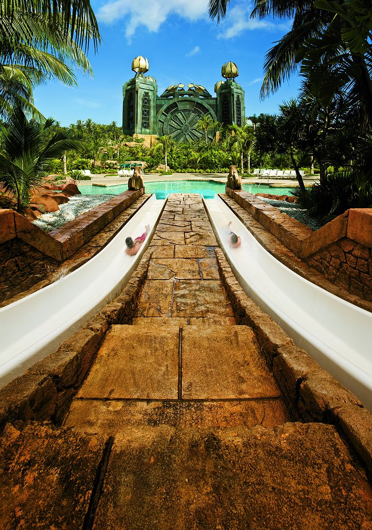 Challenger slides at the Aquaventure