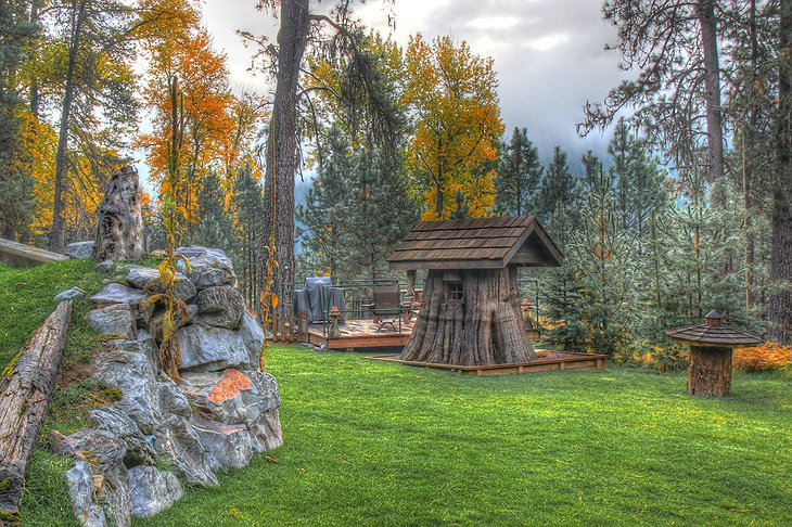 Troll House HDR Photo at The Shire of Montana