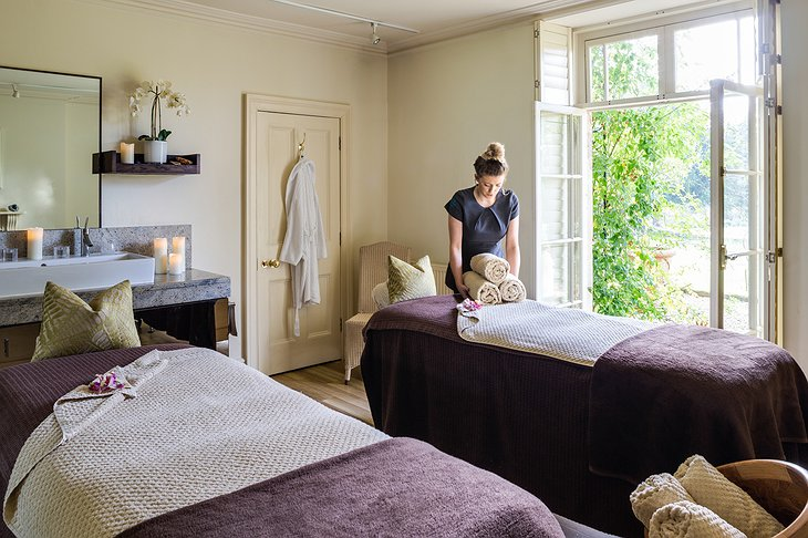 The Bath Priory Hotel Garden Spa Treatment