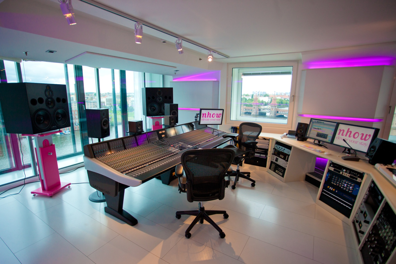 Nhow europe s first music hotel for Music studio flooring
