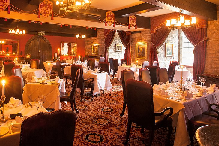 Josephine Restaurant at Langley Castle Hotel