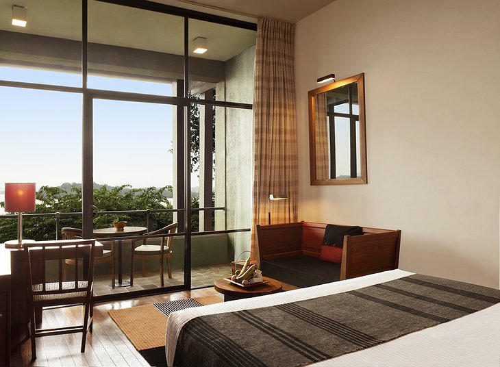 Heritance Kandalama Hotel room with private terrace
