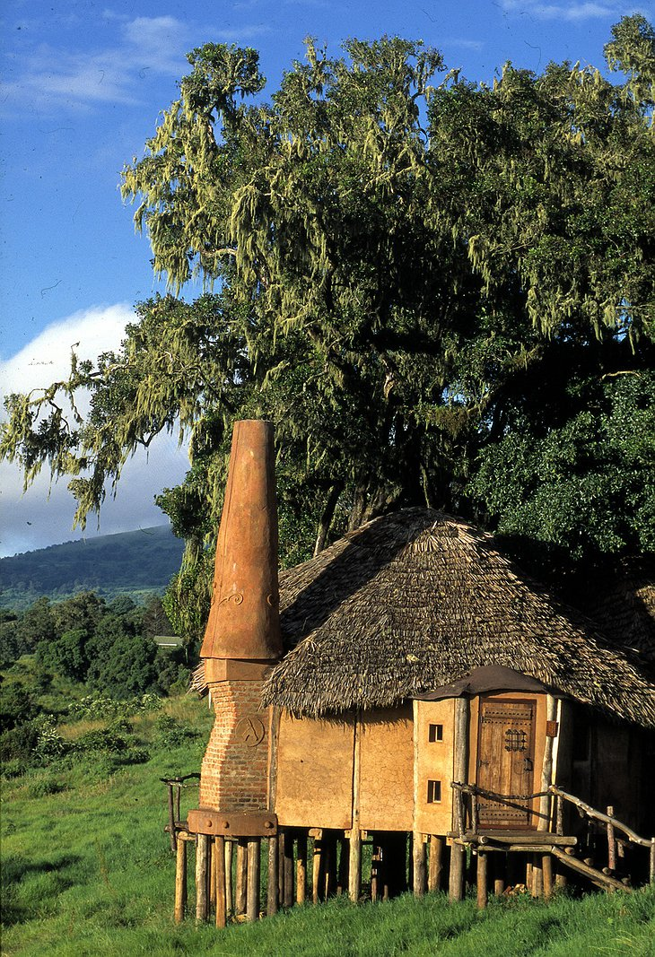 Ngorongoro Crater Lodge bungalow