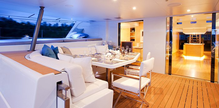 Necker Belle - Luxury Catamaran