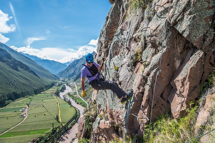 Sacred Valley climbing