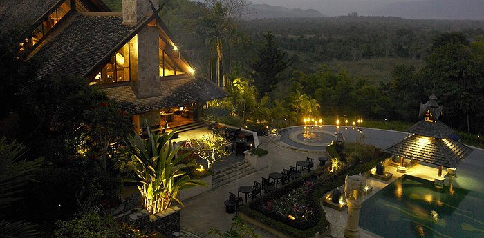 Anantara Golden Triangle Resort and Spa - Elephants And Jungle Bubbles
