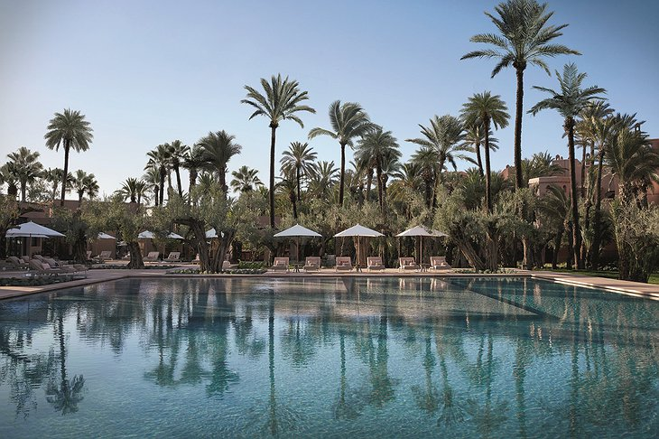 Royal Mansour Marrakech swimming pool
