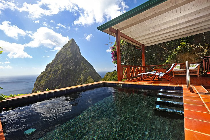 Ladera Resort private pool
