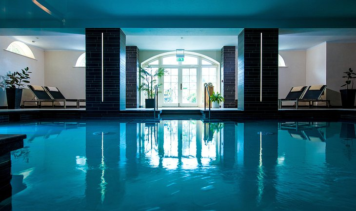 The Bath Priory Hotel swimming pool