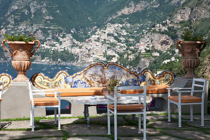Panoramic view on Positano