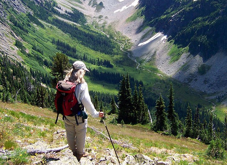 Hiking on the mountains of Methow Valley