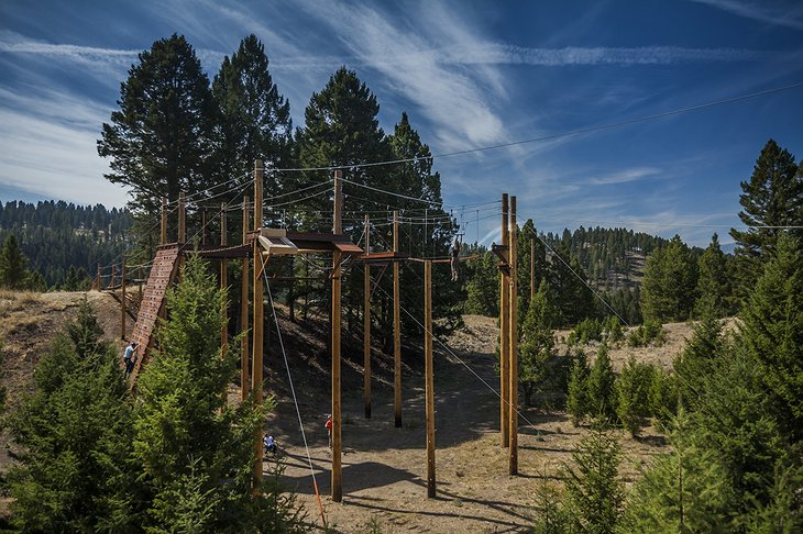 The Ranch at Rock Creek Ropes Course