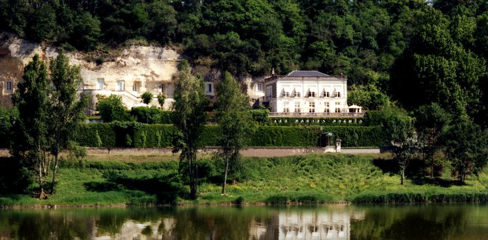 "Les Hautes Roches - Luxury cave hotel in ""the garden of France"""
