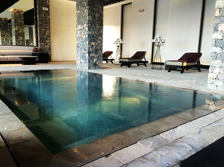 Alila Jabal Akhdar indoor pool
