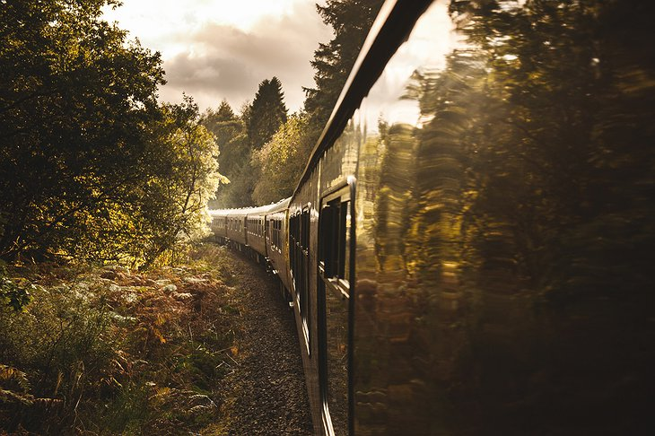 Side Of The Pullman Train Of Belmond Royal Scotsman