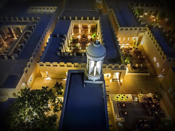 Al Bait Sharjah Courtyard from Above